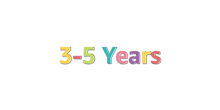 3-5 Years