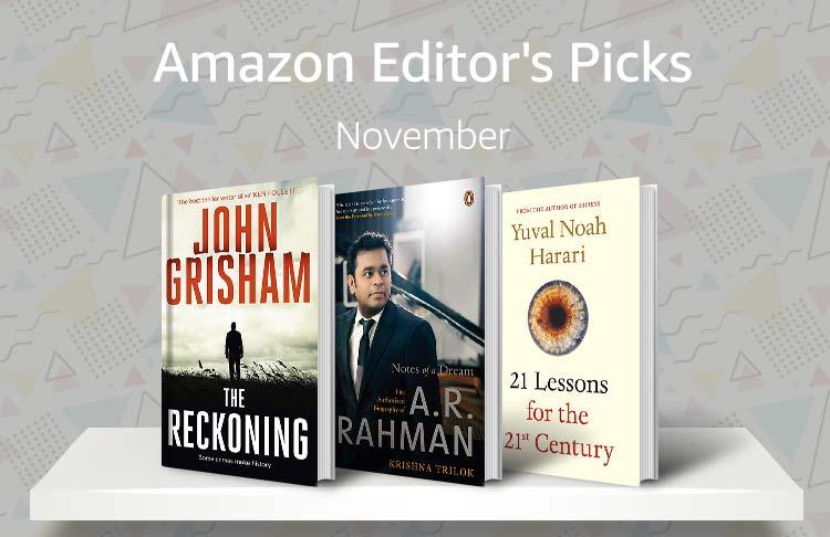 Editor's Pick November
