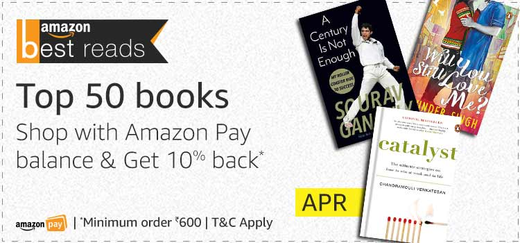 Get upto 30% off on Books