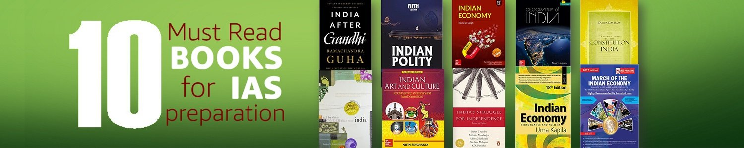 10 Must Read Books for IAS Preparation