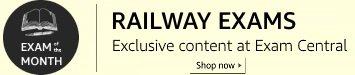 Exam of the Month: Railway Exams