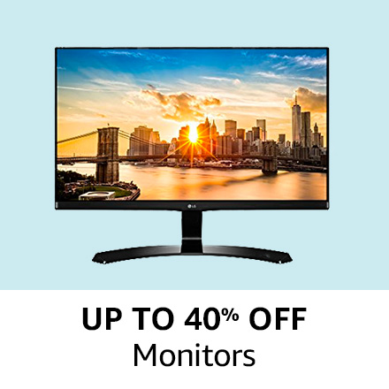 Up to 40% off |Monitors