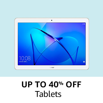 Up to 40% off |Tablets