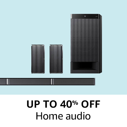 Up to 40% of Home Audio