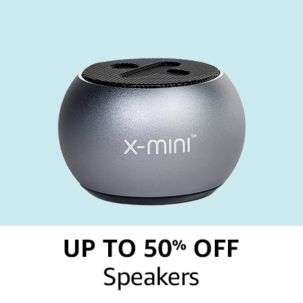 Up to 50% off |Speakers