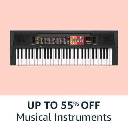 Up to 55% off Musical Instruments