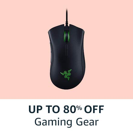 Up to 80% off |Gaming gear