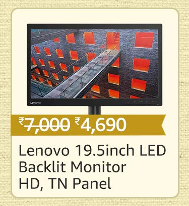Lenovo 19.5 Inch