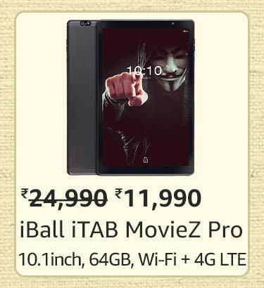 iBall iTAB MovieZ Pro
