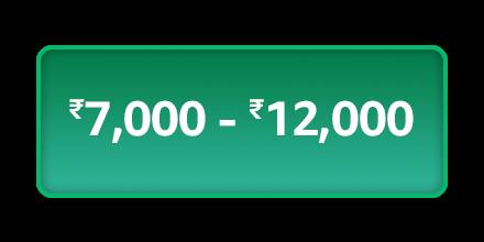 7,000 - 12,000