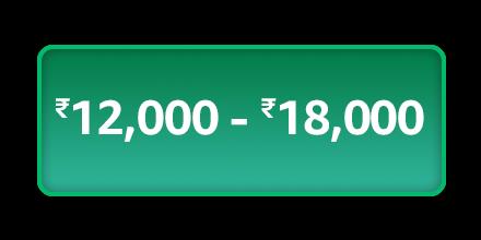 12000 - 18000