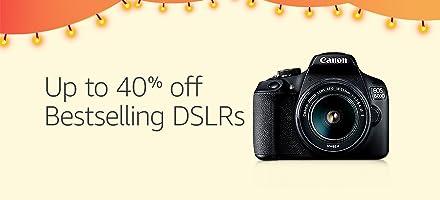 40 % OFF DSLRS