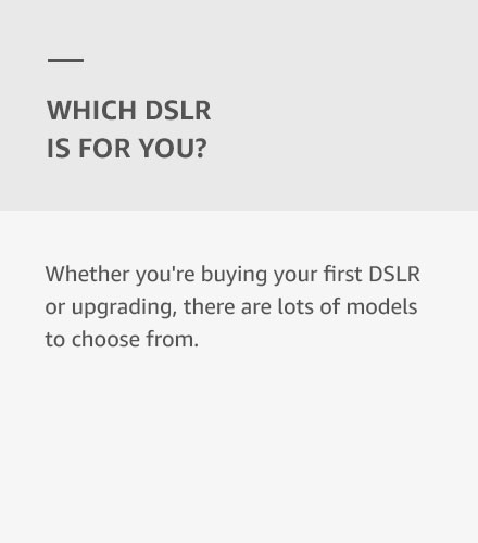 Which DSLR is For You?