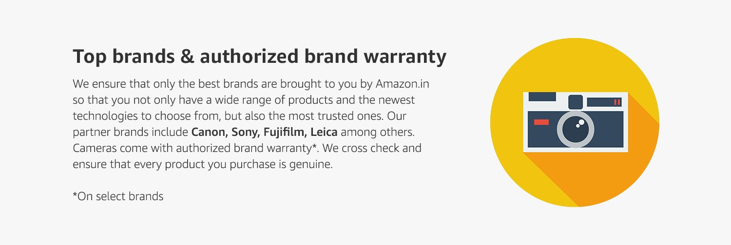 Top Brands & Authorized Brand Warranty