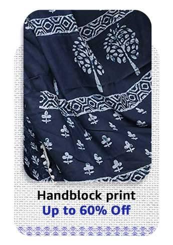 Hand block print