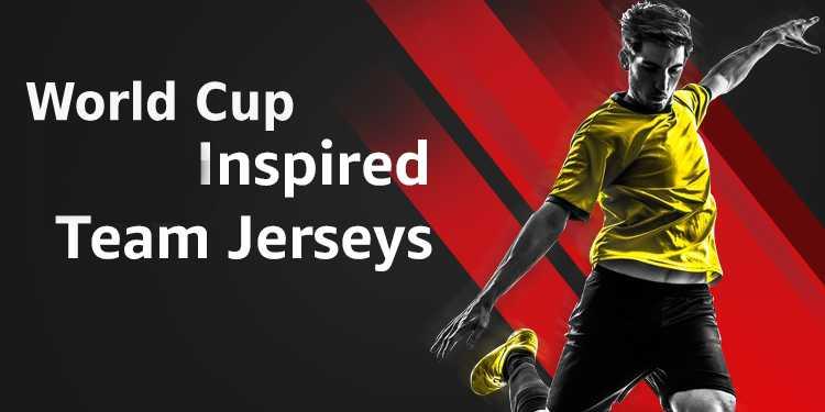 FIFA Inspired Team Jerseys