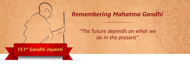151th Gandhi Jayanti