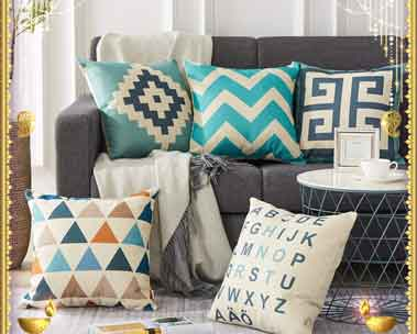 Up to 50% off | Cushions, bedsheets & more