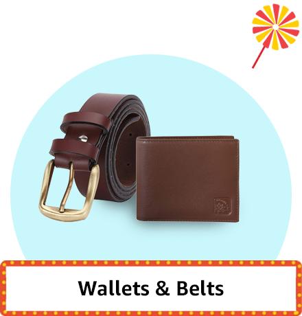 Wallets & Belts