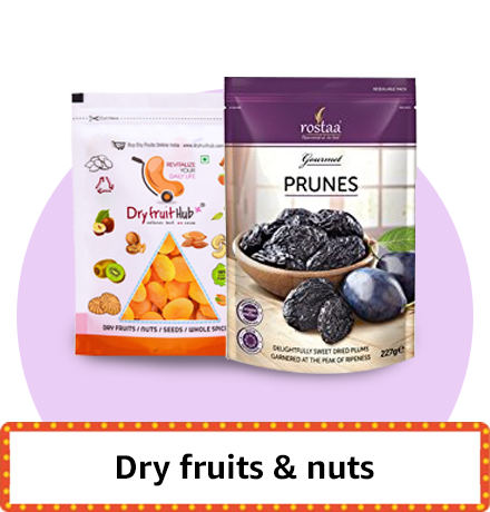 Dry fruits & snacks