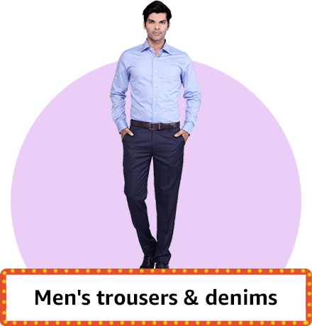 Trouser's and denims