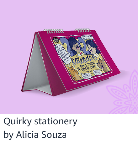 Quirky stationery from Alicia Souza