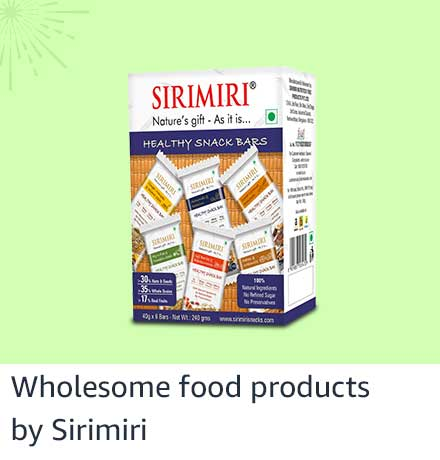 Wholesome food products from Sirimiri