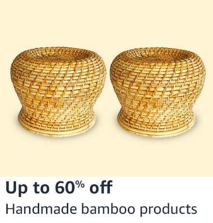 handmade bamboo products