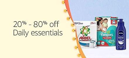 20%-80% off daily essentials