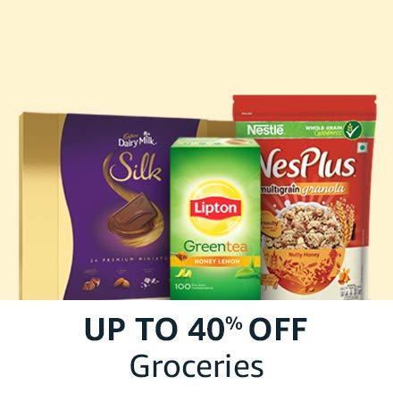 Up to 40% off: Groceries