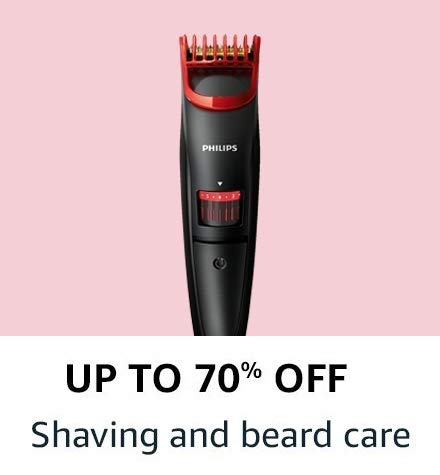 Shaving and beard care