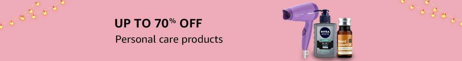 Up to 40% off: Personal care products