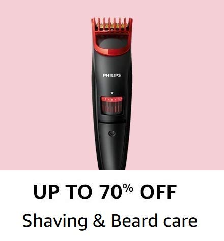 Shaving and beard care