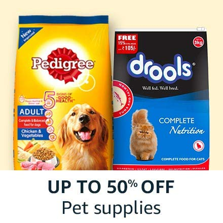 Up to 45% off: Pet supplies