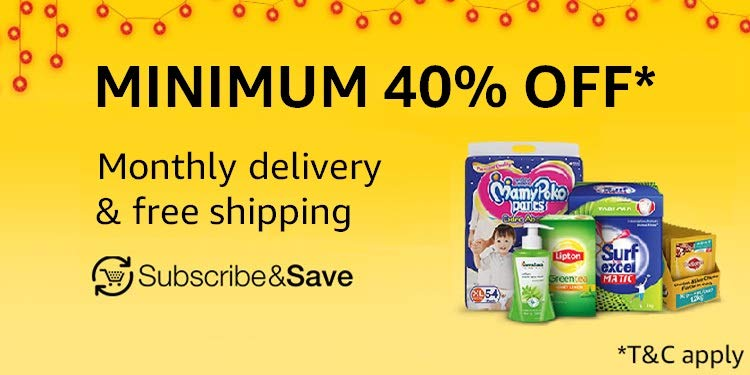 Subscribe & Save: Minimum 40% off