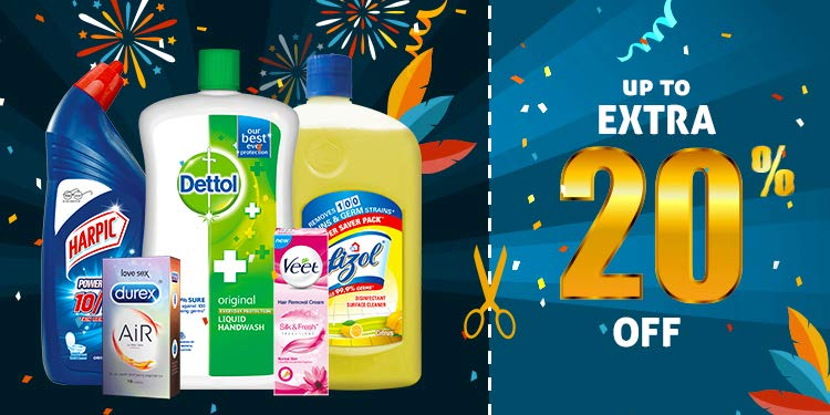 Lizol, dettol and veet coupons