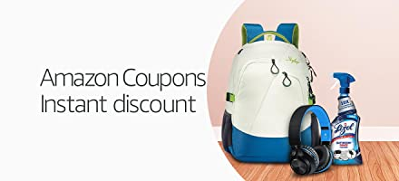 Amazon Coupons: Get extra discount