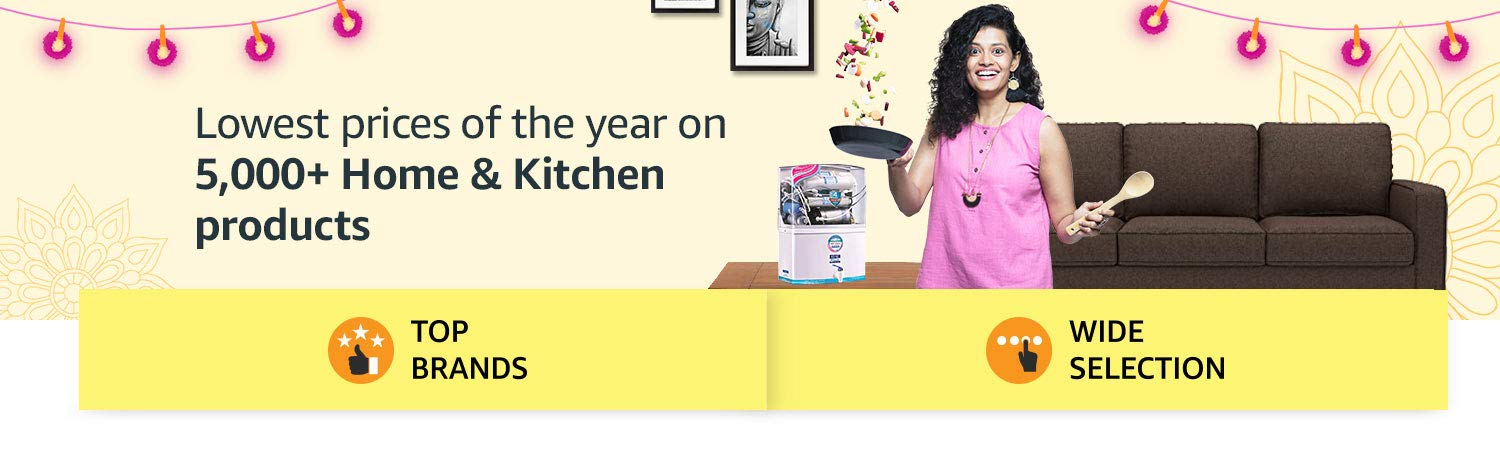 Lowest prices of the year on 5000+ Home & Kitchen products