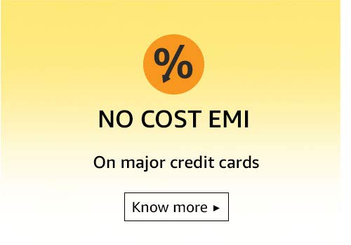 No Cost EMI on major credit cards