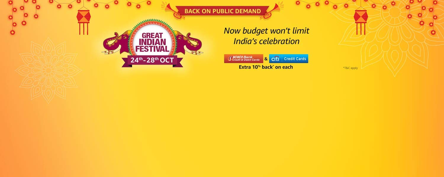 Great India Festival - 24th-28th Oct
