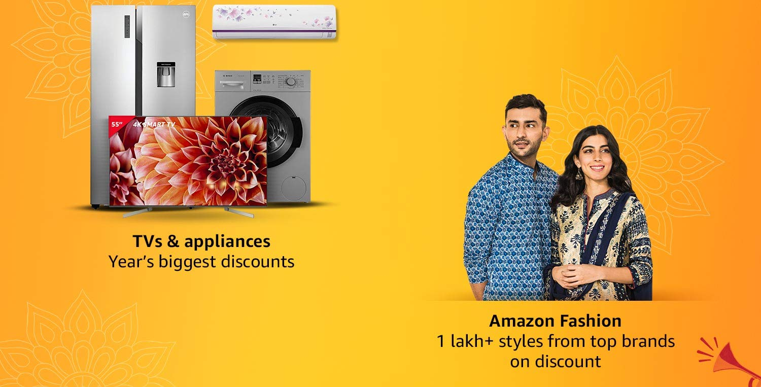 Amazon Fashion & TVs