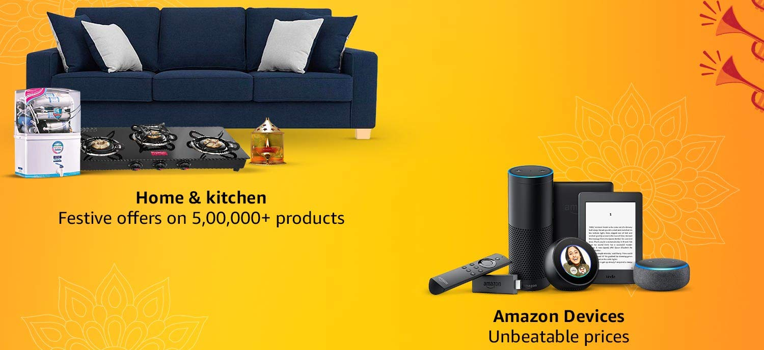 Home, Kitchen & Amazon Devices