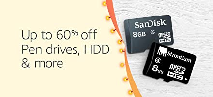 Up to 60% off: Pen drives, HDD & more