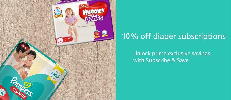 Diaper subscriptions