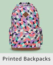 Printed Backpacks