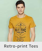 Retro-print Tees
