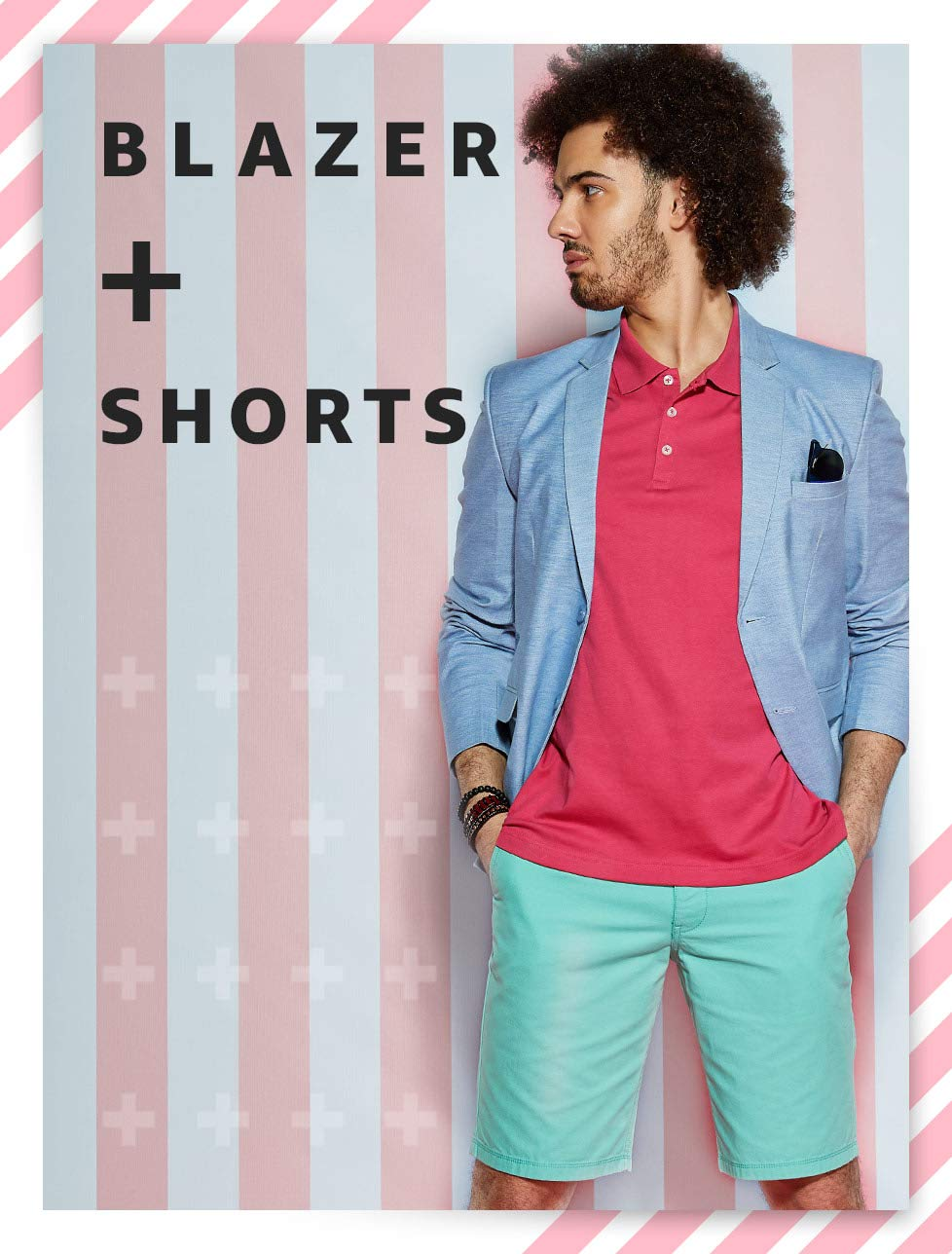 Blazers + Shorts