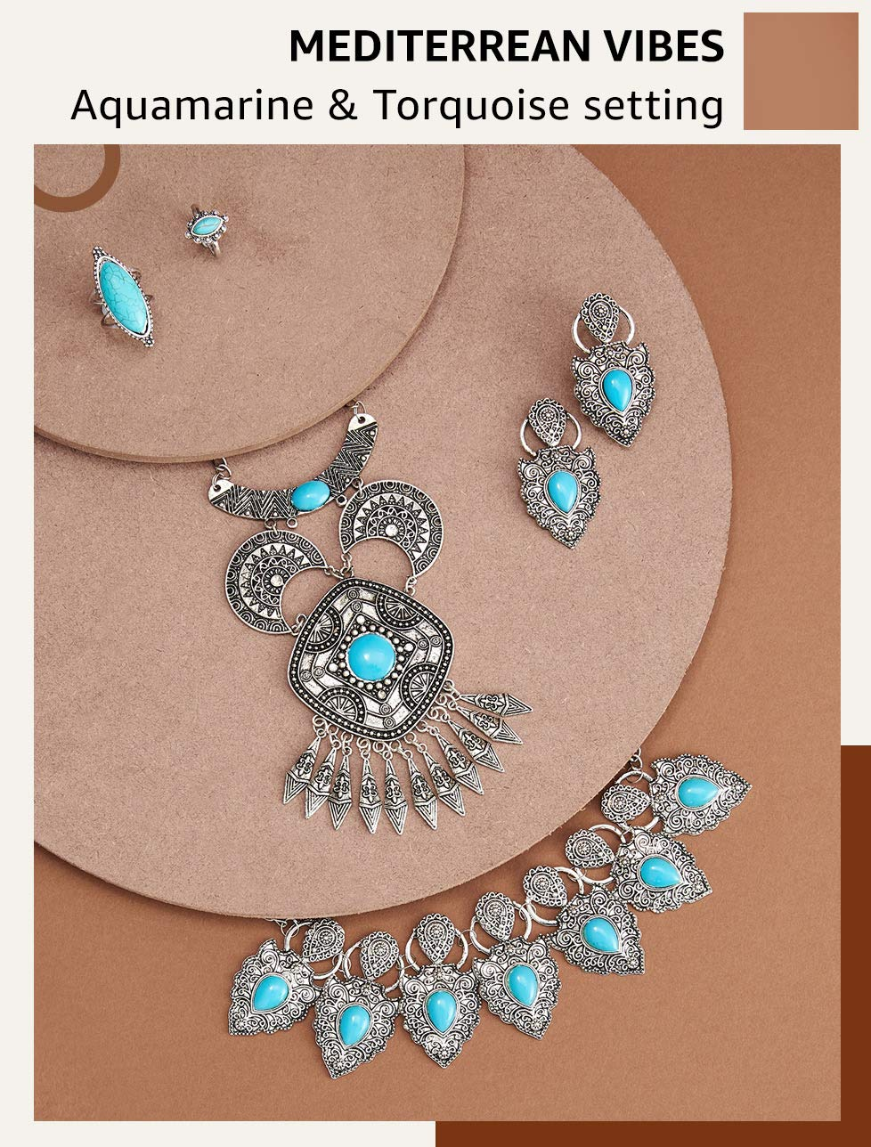 Aquamarine & Turquoise Sets
