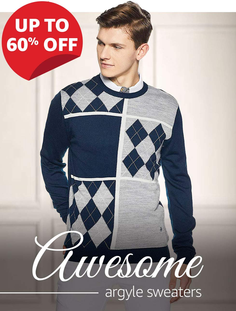Awesome argyle sweaters