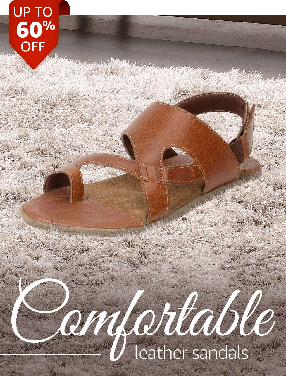 Comfortable Leather Sandals